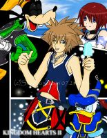 Sora, Donald, Goofy - Destiny by shirononekojin