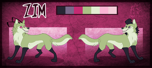 Zim Wolf Reference Sheet by WindWo1f
