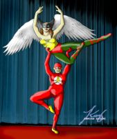 Art Jam: HG and Flash Ballet by annora