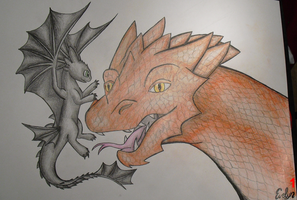 Movie Dragons by BlueEvelyn