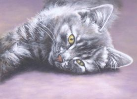 Lexi - Pastel Painting by AstridBruning