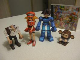 Megaman Legends Papercraft by Lantis02