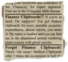 scrap from newspaper 2 by gapystock