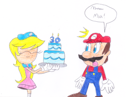 Happy 30th Years Anniversary Super Mario by sonic4ever760