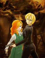 Yale and Mary by ThaiTran