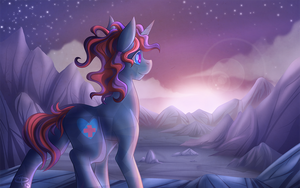 Hope in the Unknown - Commission by FallenInTheDark