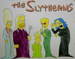 The Slytherins by tripperfunster