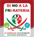 NO a la PRI-Rateria by 3D4D