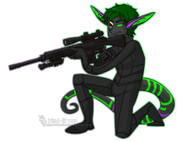 Commission - Sniper Zero by IrisHime