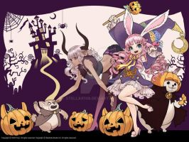 Tera for Halloween season. by stella9708