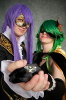 Vocaloid Masquerade GK 2K11 by goofoofighter