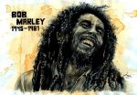 Bob Marley by the-ChooK