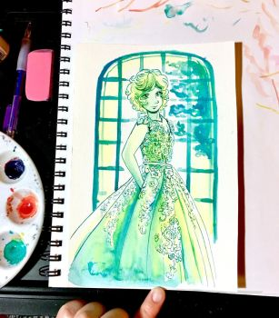 Amical - Green Ink by AlexisRoyce