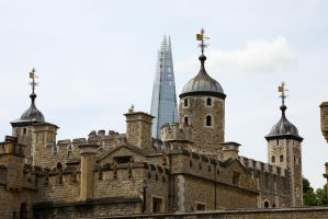 Tower Of London/The Shard by kb3449