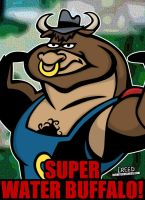Cartoon Villains - 099 - Super Water Buffalo! by CreedStonegate