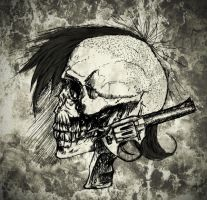 Punk skull II by Mndcntrl
