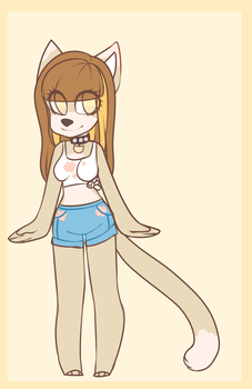 Summer cat adoptable OTA by vippor