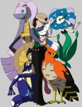 Pokemon Team X by Tigress-Nera