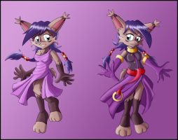 Commission: Nicole Reference by zeiram0034