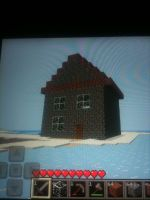 Minecraft House by BoscoBurns