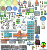 Alternative DP Tileset by KageNoSensei