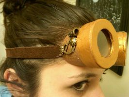 Steampunk Goggles by LycanLover