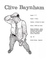Clive Baynham Concept Drawing. by TomRFoster