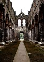 Kirkstall abbey 2 by The-Travellers-Tale