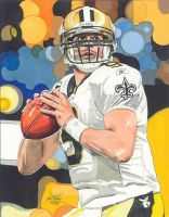 Drew Brees by coachp42