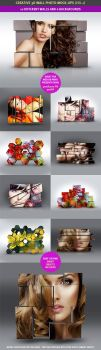 3D Wall Photo Mock-Ups 1 by hugoo13
