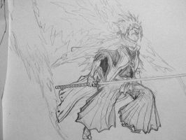 Hitsugaya Diamond D. Pencil by Maridia99