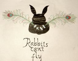 Rabbits Can't Fly by iamanaira