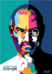 Steve Jobs in WPAP 2012 by setobuje