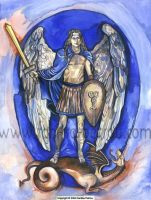 Archangel Michael. by fanitsafantasy