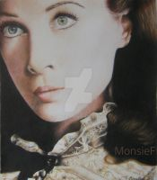Vivien Leigh - Scarlett O'Hara by MonsieF