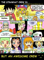 The Strawhat Crew is... by gloowy