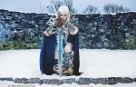 Frostmourne hungers by lady-arthas-cosplay