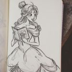 Belle by Clairictures
