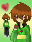 Redesign- Chara (adult version) by Shakey-Shake