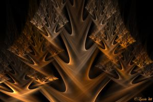 Golden Tree Wallpaper by Colliemom