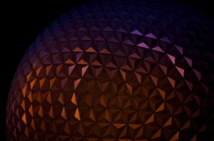Epcot after dark by wmandra