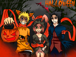 Team 7 Halloween by e-yebal-l
