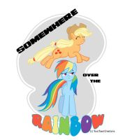Somewhere Over the Rainbow Print by ShardWolf3