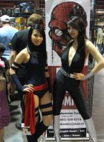 -Psylocke and Donna Troy- by Vixen-Virus