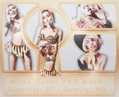 Miley Cyrus PNG Pack (bangerz tour: promotionals) by cawllin