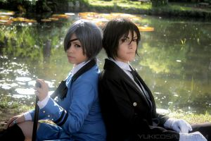 Peaceful Lake - Black Butler Cosplay by Yukilefay