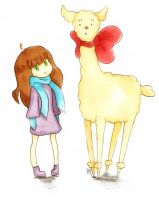 My Pet Alpaca by ChiuuChiuu