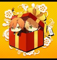two in a box by takappi