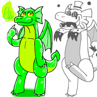 Garry ... Dragons by Garry-O-Jelly