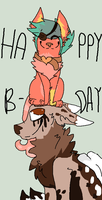 Happy Bday! by Peculiar-NomNom